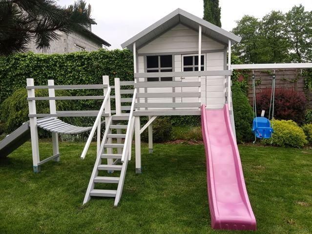 A do przydomowych ogródków polecamy zestawy zabawowe i inne!