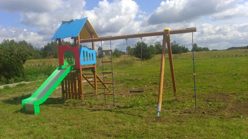 Place zabaw w Gminie Mrozy