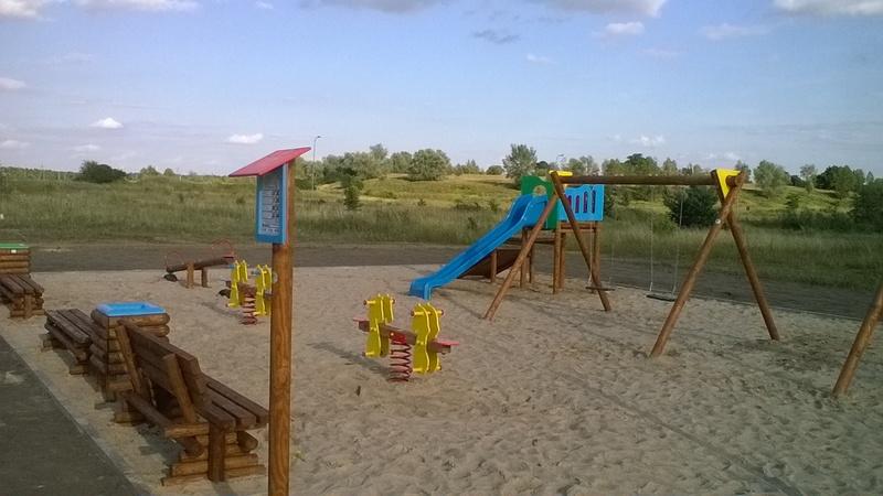Plac zabaw na Osiedlu Wielorodzinnym w Grudziądzu