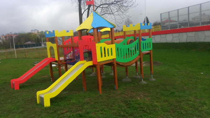 Kolorowy Zamek 7 w Przedszkolu Językowym Bajkowy Świat w Krośnie